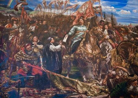 Muurschildering in het Vaticaan