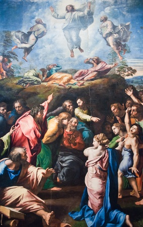 famous painting: Mural in Vatican