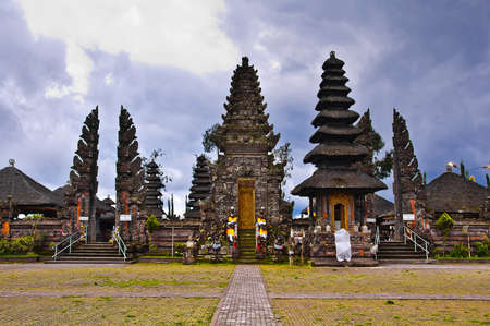 Balinese Temple Shrines Stock Photo - 12555522