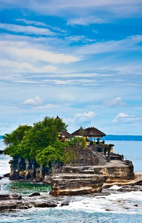 Land Sea in Balinese language Located in Tabanan Stock Photo