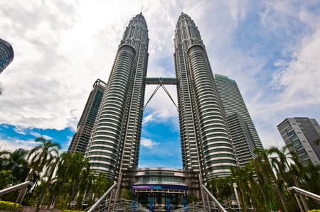 Twin Towers in Malaysia Editorial