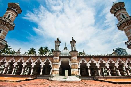 Jamek moskee in Kuala Lumpur, Maleisië