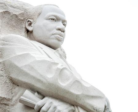 マーティンルーサー キング牧師記念碑、ワシントン dc 報道画像