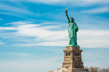 뉴욕시에서 자유의 여신상