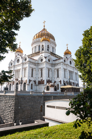 Cathedral of Crist The Savior in Moscow, Russian Federation photo