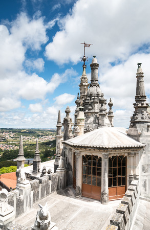 knights templar: Quinta da Regaleira in Sintra, Portugal. The Knights Templar, and the Rosicrucians