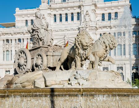 plaza de la cibeles: Plaza de la Cibeles (Plaza de Cibeles) - Oficina Central de Correos (Palacio de Comunicaciones), Madrid, Espa�a.