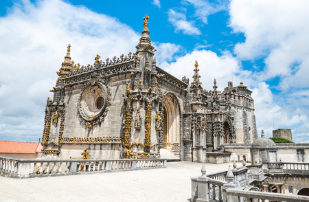 templar: Knights of the Templar (Convents of Christ) in Tomar. Portugal Editorial