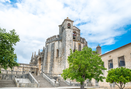 knight's: Knights of the Templar (Convents of Christ) in Tomar. Portugal Editorial