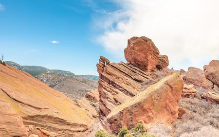 San Rafael Swell: Rock formation in the Utah desert, USA.