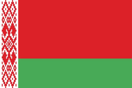 belarus: Flag of Belarus - vector illustration.