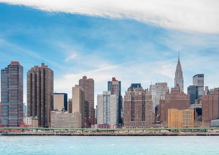 hudson: New York City with Manhattan skyline over Hudson River