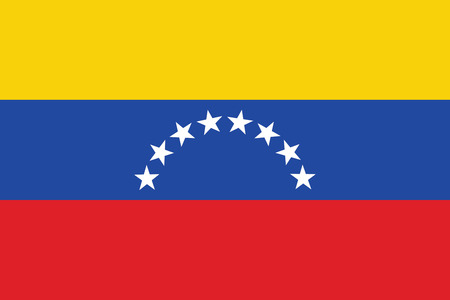 venezuela: Flag of Venezuela. Vector illustration.