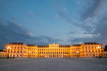 schonbrunn palace: Vienna by night, Schonbrunn Palace