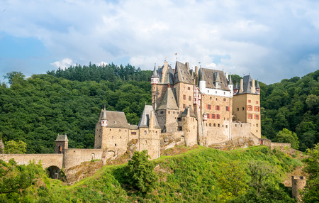 burg: castle Eltz near the Rhine Valley, Germany Editorial