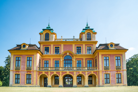 summer residence: The hunting lodge and summer residence Favorite Schloss in Ludwigsburg, Germany