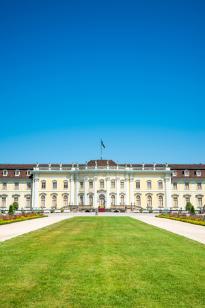 baden wurttemberg: Ludwigsburg palace in Ludwigsburg, Baden-Wurttemberg, Germany Editorial