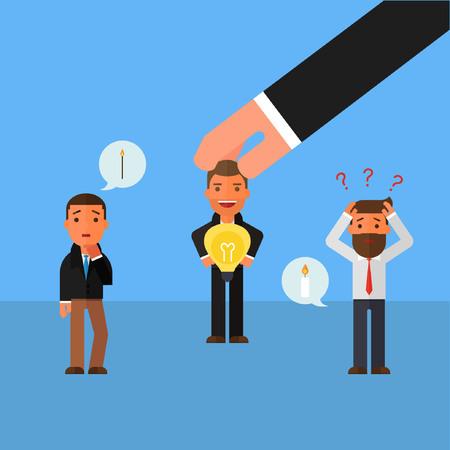 Businessman Including ideas Business concept idea