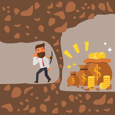 Businessman fail Illustration