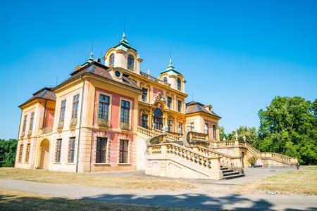 residenz: Kings summer residence, Ludwigsburg, Baden-Wurttemberg, southern Germany