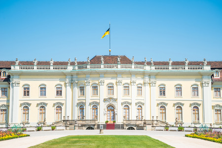 residenz: Ludwigsburg Palace (Schloss Ludwigsburg) in Baden Wurttemberg, Germany
