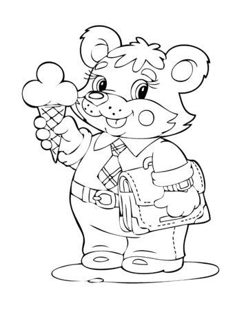 joyous life: Illustration of the beautiful bear