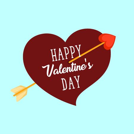 현대 낭만주의 해피 발렌타인 카드, 초대장, 웹 배너, 사회 미디어 및 기타 발렌타인 데이에 적합 한 행사 스톡 콘텐츠 - 79320533