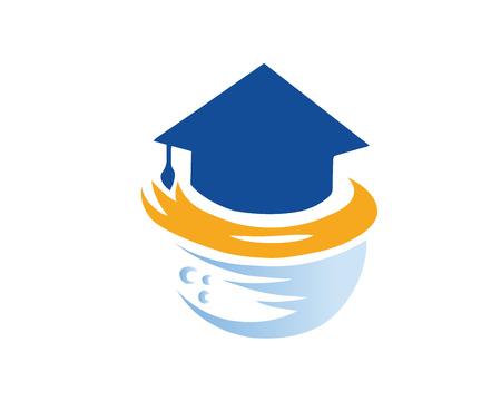 현대 교육 로고 - 글로벌 온라인 교육 캠퍼스