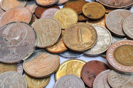 oude munten: veel oude munten