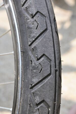 btt: part of the wheel from the bicycle