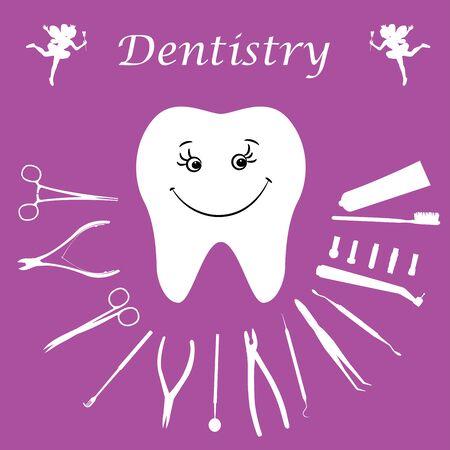gimlet: Background, teeth, dental instruments, dental care