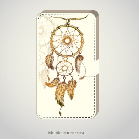 case for phone, vector illustration