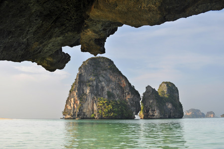 railay: The tropical beach of Railay beach thailand