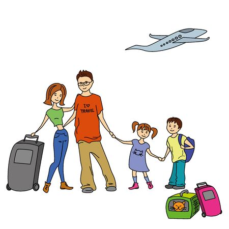 family holiday: Happy Family With Summer Trip, Vacations, Holiday, Travel Destination, Relationship, Journey Trips, Lifestyle