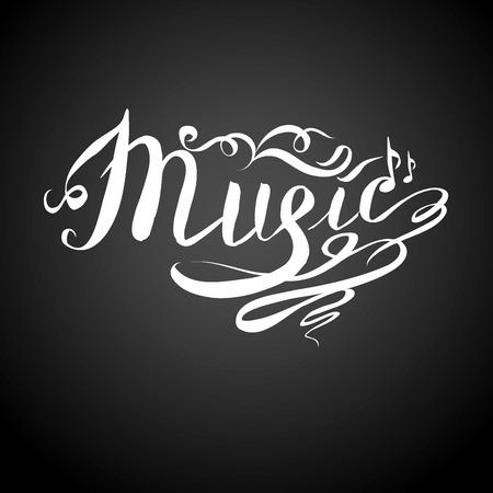 festival scales: Music letter or background, vector Illustration