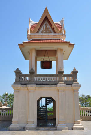 Element of Wat Tang Sai temple is located at the north end of Ban Krut, Thailand Stock Photo