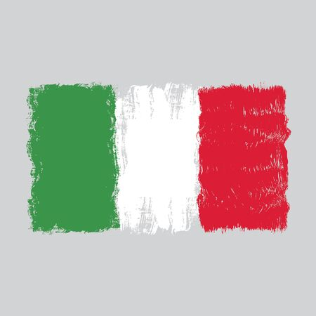 Flag of Italy,hand drawn watercolor design, Stock fotó - 149395577