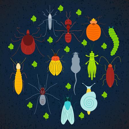 Pest coloured set