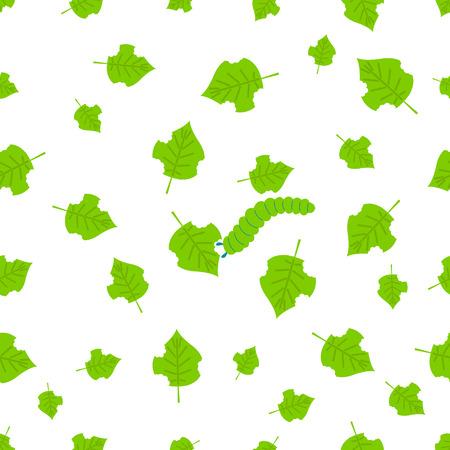 Pest seamless line pattern