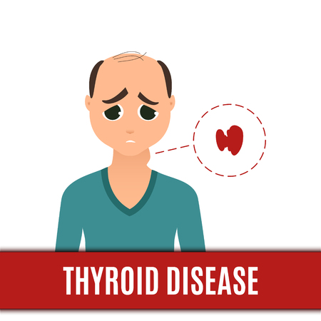 Thyroid disorder in men