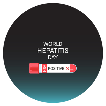 hbv: Hepatitis day poster