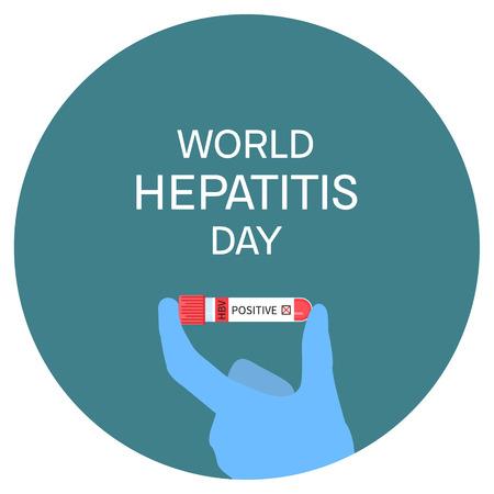 hbv: World hepatitis day poster