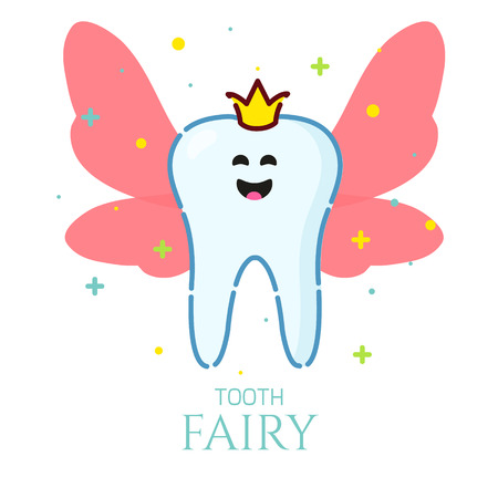 Tooth fairly icon.
