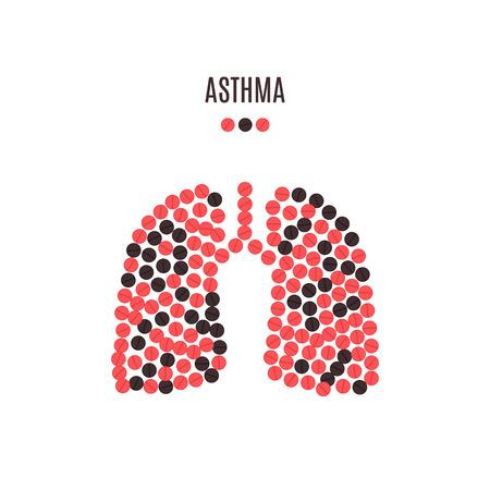 Asthma awareness pills poster