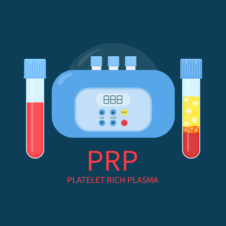 PRP laboratory equipment kit
