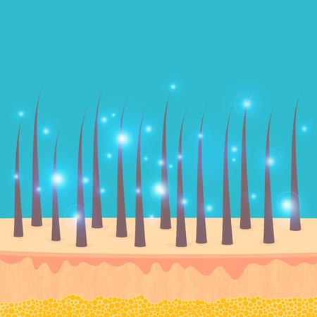 Hair essence treatment icon. Ilustracja