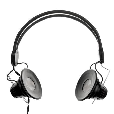 Vintage headphones on white background Stock Photo - 4301140