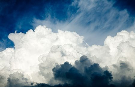 Dramatic sky with stormy clouds Stock Photo - 6694625