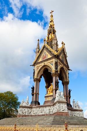 The Memorial statue of Albert in London Stock Photo - 19326496