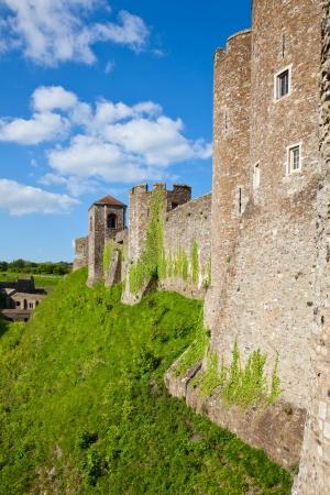 dover: Medieval Dover Castle in England